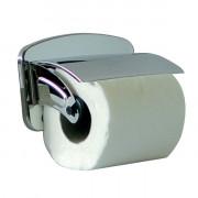 Distributeur de papier hygiénique en acier - Acier Aisi 304 - Dimensions (LxPxH): 15 x 8 x 9 cm