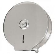 Distributeur de papier toilette en inox - Dimensions (H x P x L) mm : 273 x 273 x 120