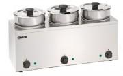 Distributeur de sauce à bain marie - Volume (L) : 3.5 - 6.5