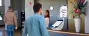 Distributeur de ticket tactile pour gestion accueil public - Adapté aux flux importants de visiteurs/accessibilité PMR