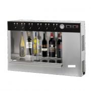 Distributeur de vin au verre pour 4, 6 ou 12 bouteilles - Capacités : 4 / 6 / 12 - 2 doses programmable