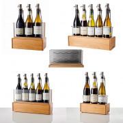 Appareil de conservation de vin par azote - Gaz : Azote alimentaire - Capacités : 3 ou 5 bouteilles