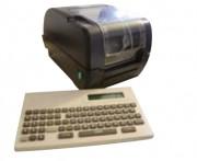 Distributeur éditeur d'étiquettes - Imprimante avec clavier autonome.