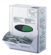 Distributeur lingettes nettoyantes lunettes - 100 lingettes sans alcool ni silicone