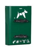 Distributeur mural hygiène canine - Capacité : 400 sacs/2 rouleaux