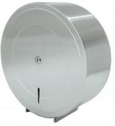 Distributeur papier toilette rouleau 300 - 400 m - Avec rouleau : 300 - 400 m - Diamètre 320 mm x P130 mm