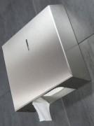 Distributeur papier wc hygiénique - Dérouleur de papier toilette en inox