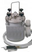 Distributeur pneumatique en acier inoxydable pour colle polyuréthane. - Pour les assemblages difficiles