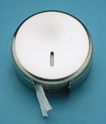 Distributeur pour papier toilette - Dimensions cm (H x Diam.) : 12,5 x 33 cm