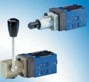 Distributeurs à clapet, à action directe, commande mécanique ou fluidique