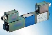 Distributeurs à tiroir débit maximal de 20 l par min - Type .WE 6/…B..XH