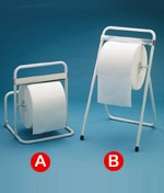 Distributeurs de papier murale ou sur pieds - Dimensions : (L x l x H) : 42 x 41 x 52 cm ou 44 x 48 x 78 cm