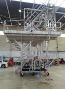 Dock d'accès dérive - 2 accès latéraux à 4 niveaux - Mixte aluminium et acier