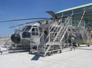 Dock de maintenance pour hélicoptère super frelon - Dock d'accès et de maintenance complet