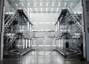 Dock et escabeau pour avions - Dock complet pour cabine de peinture