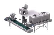 Doseur massique volumétrique - Longueur :(61 mm) / (122 mm) Largeur : (102 mm) à  (406 mm)