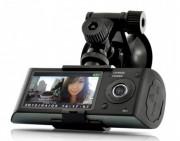 Caméra voiture double objectif -  Résolution vidéo: 1280 x 480 @ 30 FPS