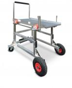 Double chariot de chargement véhicules - Capacité : 200 kg - pour véhicule utilitaire