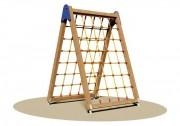 Double filet à grimper pour enfants - Dimensions (L x P x H): 165 x 180 x 250 cm