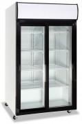 Double vitrine réfrigérée - Température de fonctionnement: +3°C/+7°C