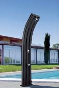 Douche solaire aluminium - Capacité du réservoir : 75 Litres