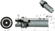 Douille pour mandrins à réglage axial type TR - Attachment cône HSK