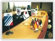 Drapeau pour table de conférence - Dimensions 10 x 15 cm