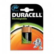DURACELL Blister de 1 accu rechargeable HR9V 1,2volt +CCR - DURACELL