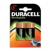 DURACELL Blister de 2 accu rechargeables C/HR14 1,2volt +CCR - DURACELL
