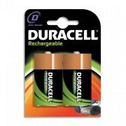 DURACELL Blister de 2 accu rechargeables D/HR20 1,2volt +CCR - DURACELL