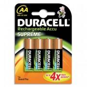 DURACELL Blister de 4 accu rechargeables 2/HR6 1,2volt +CCR - DURACELL