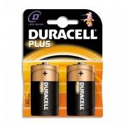 DURACELL PLUS Blister de 2 pile LR20 D - DURACELL