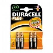 DURACELL PLUS Blister de 4 pile LR03 AAA - DURACELL