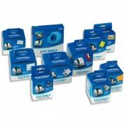 DYMO Rouleau 300 d'étiquettes badge blanc 89x41 mm pour Label Writer 11356 - DYMO