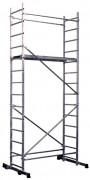 Echafaudage aluminium à hauteur modulable