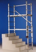 Échafaudage escalier multifonctions