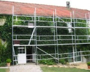 Echafaudage façade - Echafaudage aluminium
