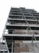 Échafaudage fixe de façade - Longueurs (m) : 1 à 3 - Acier ou mixte