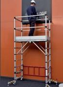 Echafaudage roulant télescopique 7 hauteurs - Hauteur travail maxi 4.00 m