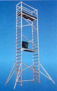 Echafaudage simple largeur - Longueurs disponibles: 2 m; 2,5 m; 3 m, avec cadres réversibles multifonctions