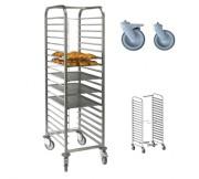 Echelle de cuisine 15 / 20 niveaux - 15 et 20 niveaux - Dimensions (L x l x H) mm : 465 x 612 x 1775