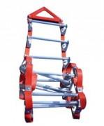 Echelle de sécurité souple à barreaux - Dimension (L) : 3 m