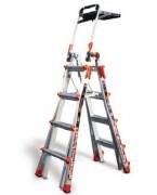 Echelle multiposition - Hauteur d'accès maximale  : 550 ou 650 cm