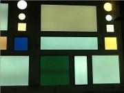 Éclairage led pour hôpitaux - Dimensions (L x l x h) : 600 x 600 x 12.5 mm