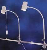Eclairage pour chambre et lit medical - Intensite lumineuse à environ 2100 lux à 500 mm