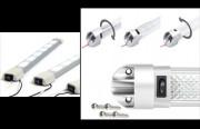 Eclairage véhicule pour utilitaire - 2 types de barrettes Led