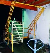 Ecluse de sécurité pour chargement vertical - Manutention verticale des charges