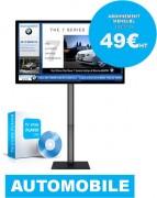 Écran concession automobile - Solution affichage dynamique