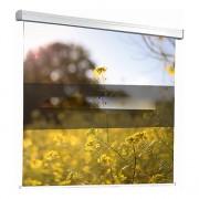 Ecran de projection électrique en toile blanche - 7 tailles proposées au format 1/1