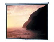 Ecran de projection manuel 114 x 203 - Ecran manuel haut de gamme Da-lite de 1.78 à 2.34 m - Format 1/1 , 4/3 ou 16 /9